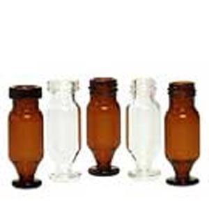 Probenflaschen verjüngt, Tulpen-Flaschen, Injektionsflaschen