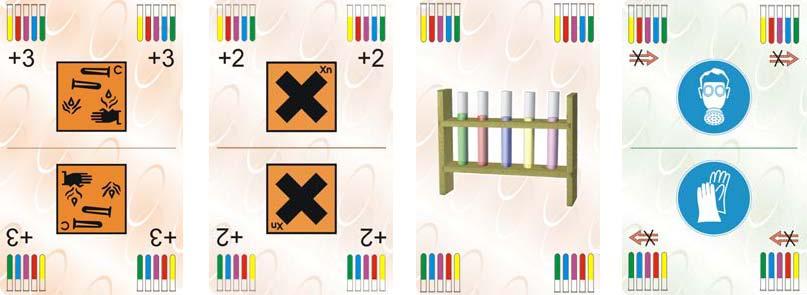 Chemundo Aktionskarten, Spielkarten zur Chemiebildung