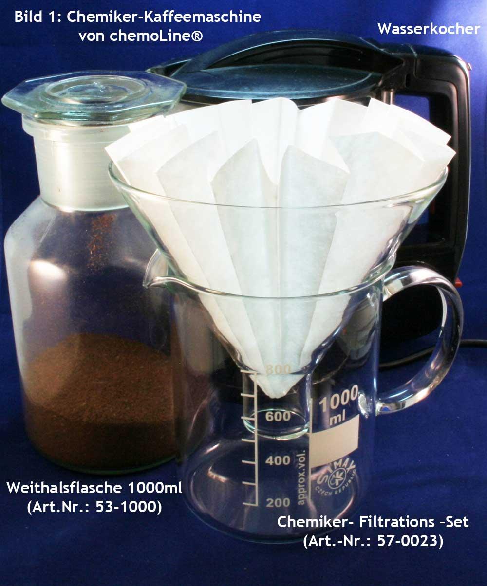 Chemiker Kaffemaschine