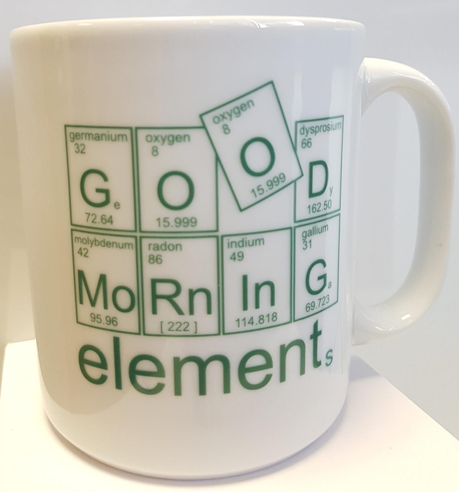 Tasse Good Morning elements