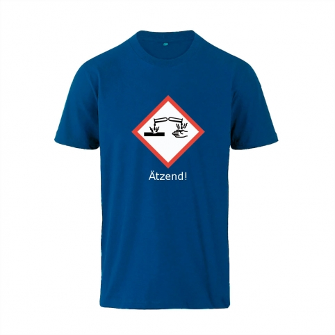 Kinder T-Shirt GHS Ätzend