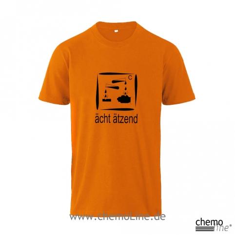 T-Shirt Aecht-aetzend Laborleibchen