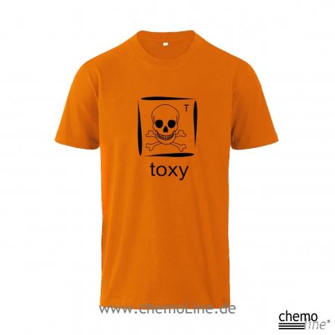 T-Shirt toxy für Chemmie-Techniker