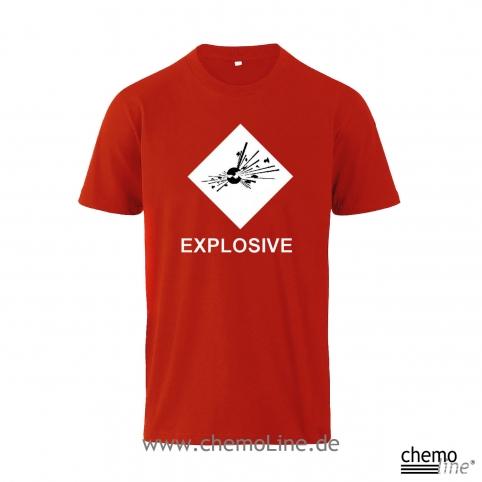 T-Shirt ghs Explosive Labor-Hemden