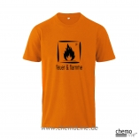 T-Shirt feuer-und-flamme, Laborhemden