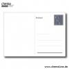Astronomie-Postkarte Polarsternfinder, Rückseite