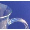 Henkel-Becherglas mit stabilem seitlichen Glasgriff