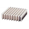 Rastereinsatz aus Karton für 10x10 Flaschen der BottleBox