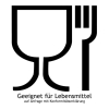 Lebensmittelgeeignet entsprechend EG-Verordnung Nr. 10/2011