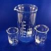 Bechergläser mit hoher Form und Ausguss aus Borosilikat 3.3 - Laborglas