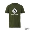T-Shirt GHS Feuer und Flamme Farbe:olive
