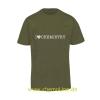 T-Shirt I like Chemistry olive