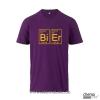 T-Shirt Bier Farbe: violett
