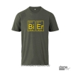 T-Shirt Bier Farbe: grau