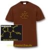 T-Shirt Koffein Doping Herren braun