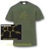 T-Shirt Koffein Doping Herren olive