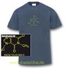 T-Shirt Koffein Doping Herren grau