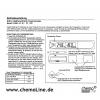 Bedienungsanleitung für das digitale Alarm-Kühlraumthermometer/ Kühlschrankthermometer/ Gefrierschrankthermometer