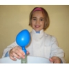 Mit Spaß und Begeisterung können die Kinder die Versuche selbständig durchführen