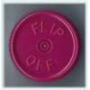 20mm Flip-Off Kappe, Mittelabriss, violett