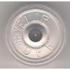 20mm Flip-Off Kappe, Mittelabriss, transparent