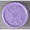 20mm Flip-Off Kappe, Mittelabriss, lavendel