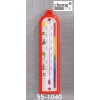 Gruppenraum-Thermometer aus Kunststoff, rot