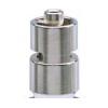 Metall- Luer-Lock-Anschluss an Injektionsspritzen aus Ganzglas