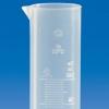 Kunststoff-Messzylinder aus PP mit erhabener Skala , niedriger Form und Klasse B