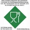 Messzylinder-Lebensmittelgeeignet entsprechend EG-Verordnung Nr. 10/2011