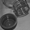 Laborflasche aus Klarglas Borosilikat 3.3