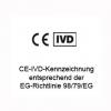 CE-IVD-Kennzeichnung entsprechend der EG-Richtlinie 98/79/EG
