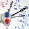Maxima-Minima- Einstellung bei Thermometer