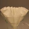Labor-Papierfaltenfilter