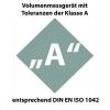 Volumenmessgerät mit Toleranzen der Klasse A entsprechend DIN EN ISO 1042