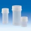 VITLAB® Probendosen mit flüssigkeitsdichten Schraubkappen aus transparenten PP