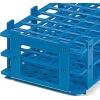 Preisgünstige blaue Reagenzglasständer aus PP-Kunststoff