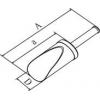 Skizze Edelstahl-Schaufeln - fugenfrei und hochglanzpoliert für Reinraum und Reinsträume