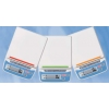 3 farbige Kodierstreifen zur Zuordnung (z. B. Klassenraum, Labor usw.) für Schulwaage HT-Serie