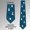 Krawatte Stöchiometrie blau