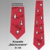 Krawatte Stöchiometrie rot