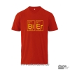 T-Shirt Bier Farbe: rot