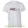 T-Shirt Denkend weiß / orange