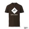 T-Shirt  GHS Explosive Farbe braun