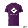T-Shirt  GHS Explosive Farbe violett