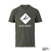 T-Shirt  GHS Explosive Farbe grau