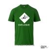 T-Shirt  GHS Explosive Farbe grün