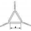 Sizze - Tondreiecke aus verzinktem Stahldraht mit Tonröhren