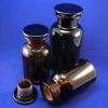 Weithals-Standflaschen in Braunglas